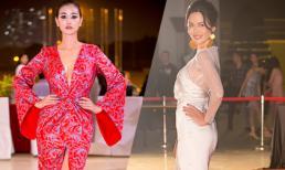 Hoa hậu Thu Thủy, Maya 'cân' cả dàn sao trên thảm đỏ Tuần lễ thời trang