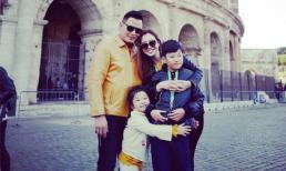 Vợ chồng Jennifer Phạm hạnh phúc du lịch châu Âu cùng con chung, con riêng