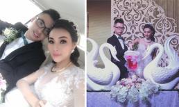 'Hot girl Tuyệt tình cốc' Nga Tây tổ chức đám cưới hoành tráng với chồng điển trai
