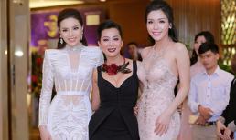 Hoa hậu Kỳ Duyên lần đầu hội ngộ thân thiết với đàn chị MC cùng tên
