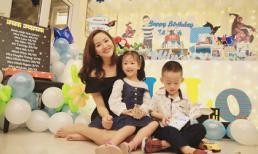 Người đẹp Phan Thị Lý tổ chức sinh nhật vui vẻ cho con trai
