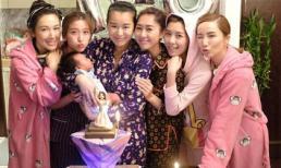 Ở tuổi 38, Hồ Hạnh Nhi tổ chức sinh nhật theo phong cách 'mẹ bỉm sữa' bên bạn bè, chồng con