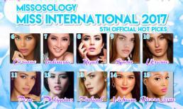 Thùy Dung lọt top 15 Hoa hậu Quốc tế, được khen hòa đồng với bạn bè