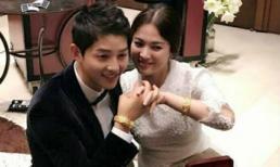 Lóa mắt với món quà cưới của vợ chồng Song Joong Ki – Song Hye Kyo