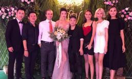 Sao Việt rạng rỡ tham dự đám cưới của Kha Mỹ Vân và chồng Tây