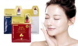 Trào lưu sử dụng mặt nạ chứa vàng nguyên chất 24k Gold Mask đang cực hot