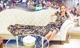 Minh Hằng quyền lực, quyến rũ thử trang phục trước khi sang Dubai dự Fashion Week