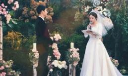 Tiết lộ nguyên nhân khiến cô dâu Song Hye Kyo bật khóc trong lễ cưới