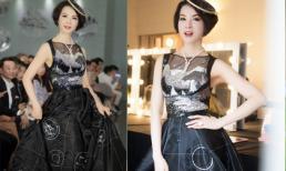 MC Thanh Mai diện váy gắn 20.000 viên đá làm vedette