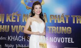 Á hậu Hoàng Oanh chia sẻ bí quyết thành công tại hội nghị Be Nature miền Trung