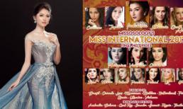 Trước thềm chung kết Hoa hậu Quốc tế, Thùy Dung trượt bảng dự đoán top 15