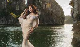 Vũ Thu Phương xinh đẹp như nàng tiên cá giữa thiên nhiên