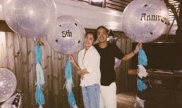 Tăng Thanh Hà cùng ông xã tình cảm đi du lịch kỷ niệm 5 năm ngày cưới