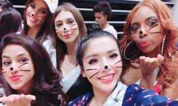 Khánh Phương không ngủ hơn 24 tiếng khi vừa đến Miss Supranational 2017