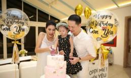 Vợ chồng Trang Trần mở tiệc sinh nhật 2 tuổi ngập tràn hạnh phúc cho con gái cưng