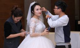 Người 'phù phép' giúp cô dâu Nhật Thủy trở nên lộng lẫy và tỏa sáng trong ngày cưới là ai?