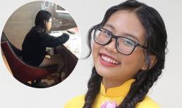 Phương Mỹ Chi ngồi toilet khách sạn học bài, fan nhói lòng