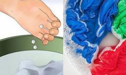 Cho 5 viên Aspirin vào ngâm cùng quần áo, công dụng tẩy rửa 'thần kỳ' của nó sẽ cho bạn kết quả bất ngờ