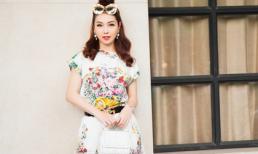 Hoa hậu Jennifer Phạm sành điệu xuống phố với 'cây' hàng hiệu