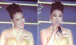 Phần thi ứng xử bị đánh giá gây cười giúp Phi Thanh Vân đăng quang Hoa hậu