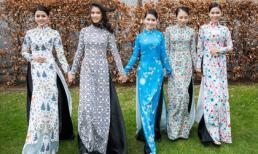 Thí sinh Miss Áo dài Việt Nam World 2017 khoe sắc giữa trời Âu