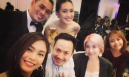 Loạt sao Việt đến dự tiệc báo hỷ của Tùng Min và Thanh Hoa ở Tp.HCM