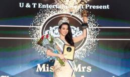 Mi Mi Trần đạt danh hiệu Hoa hậu quý bà Vietnamese - America