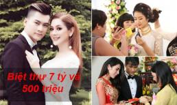 Những sao Việt nhận được của hồi môn khủng, đủ để 'đổi đời'