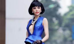 Á hậu Ngọc Quỳnh lạ lẫm với style tóc ngắn cổ điển