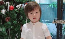 Con trai Elly Trần 'đốn tim' fans khi khoe kiểu tóc mới