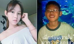 Hot girl Thái khiến cả cộng đồng mạng sững sờ khi công khai hình ảnh thời thơ ấu