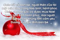 100+ lời chúc Giáng sinh cho bạn bè, người yêu, vợ, chồng hay ý nghĩa