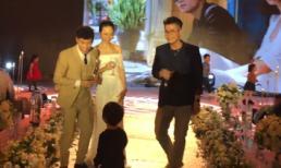 Đinh Mạnh Ninh hát ca khúc đầy ý nghĩa mừng đám cưới thành viên OPlus