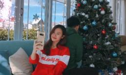 Midu chính thức công khai có bạn trai trong dịp Noel 2017