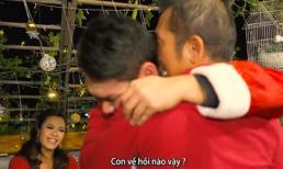 Phương Vy tặng quà Noel khiến bố bật khóc nức nở