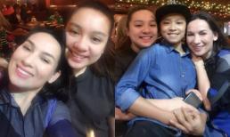 Hơn 20 năm ở Mỹ, lần đầu tiên con gái Phi Nhung về Việt Nam đón Giáng sinh cùng mẹ