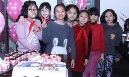 Tiệc sinh nhật giản dị của con gái cựu siêu mẫu Thúy Hằng