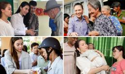 Loạt sao Việt 'ghi điểm' khi chăm chỉ hoạt động từ thiện nhất năm 2017