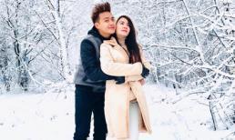 Vợ chồng Kha Ly tận hưởng không khí lạnh âm 3 độ C tại Nga, hâm nóng tình cảm hôn nhân