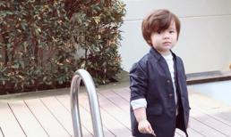 Con trai của Elly Trần 'gây mê' với vẻ ngoài chuẩn soái ca Hàn Quốc