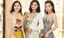 Loạt người đẹp Việt hội ngộ tại buổi ra mắt cuộc thi Hoa hậu biển toàn cầu 2018
