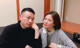 Đi du lịch với Song Joong Ki mà Song Hye Kyo lại vui vẻ đăng ảnh với trai lạ