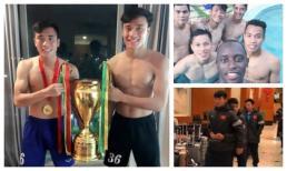 Trên sân cỏ là người hùng, ngoài đời các chàng trai U23 Việt Nam lại cực hồn nhiên đáng yêu thế này