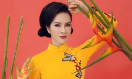 MC Thanh Mai rạng rỡ trong loạt ảnh áo dài đón xuân