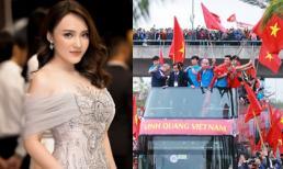 Ca khúc ca sĩ Nhật Thuỷ thu âm thời sinh viên bất ngờ 'gây sốt' khi hoà cùng không khí đón U23 Việt Nam