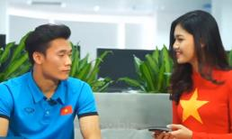 Thủ môn Tiến Dũng: 'Em đẹp trai nhất đội U23 Việt Nam'