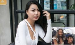 Lại Thanh Hương lên tiếng xin lỗi sau khi bị 'ném đá' vì ăn mặc phản cảm chụp ảnh cùng U23 Việt Nam