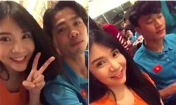 Thanh Bi bị dân mạng đồng loạt chỉ trích vì livestream và liên tục làm phiền bữa ăn duy nhất trong ngày của U23 Việt Nam