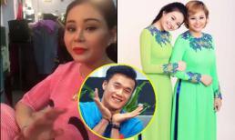 Vừa trở lại, danh hài Lê Giang 'lầy lội' tự nhận là 'mẹ vợ' Bùi Tiến Dũng, hé lộ thời gian đám cưới