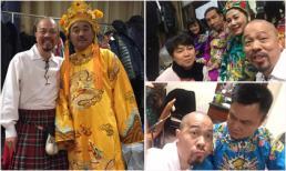 Vừa lo trang phục, diễn xuất, Đức Hùng vẫn pose hình 'điên đảo' cùng các Táo